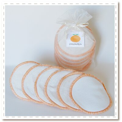 Satsuma Designs LLC Organic Washable Nursing Pads - 3 Pairs