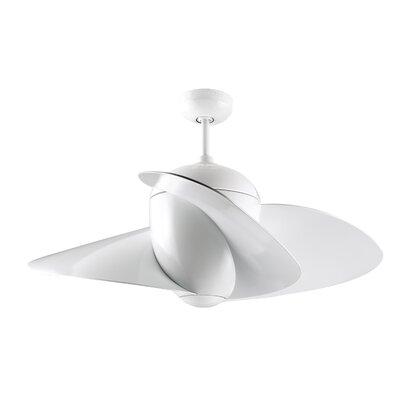 """Monte Carlo Fan Company 44"""" Elliptical 3 Blade Ceiling Fan"""