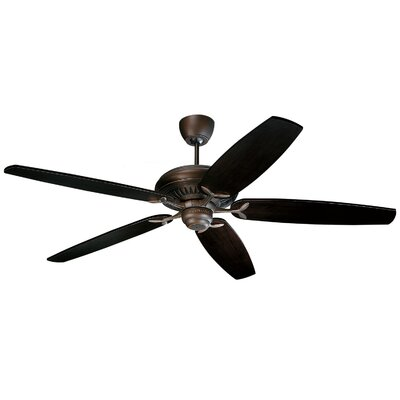 "Monte Carlo Fan Company 60"" DC60 5 Blade Ceiling Fan with Remote"