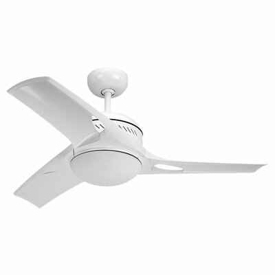 "Monte Carlo Fan Company 38"" Match One 3 Blade Ceiling Fan with Wall Remote"