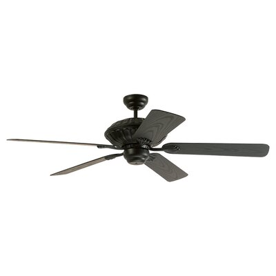 "Monte Carlo Fan Company 52"" Cozumel 5 Blade Indoor / Outdoor Ceiling Fan"
