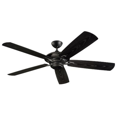 "Monte Carlo Fan Company 60""  Cyclone 5 Blade Outdoor Ceiling Fan"