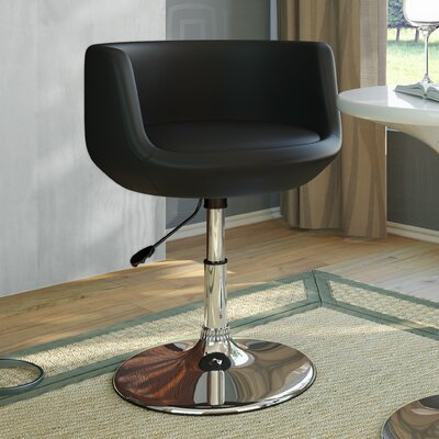 dCOR design Abrosia Adjustable Barrel Arm Chair