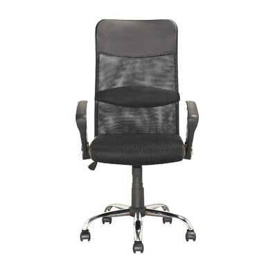 dCOR design Workspace Height-Back Mesh Executive Office Chair with Arms
