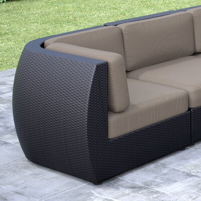 dCOR design Seattle Lounge Chair with Cushion