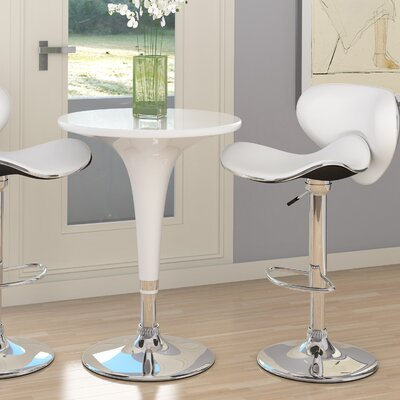 dCOR design CorLiving Adjustable Pub Table Set