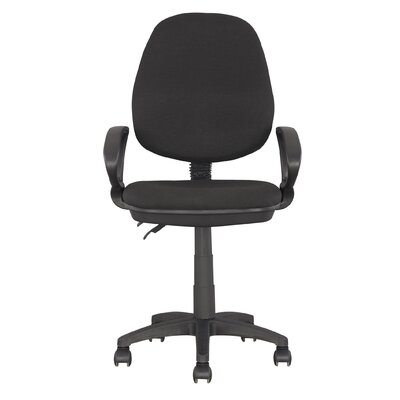 dCOR design Workspace Mid-Back Office Chair with Arms