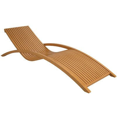 dCOR design Wood Canyon Chaise Lounge