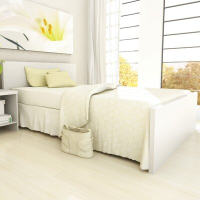 dCOR design Brook Panel Bed
