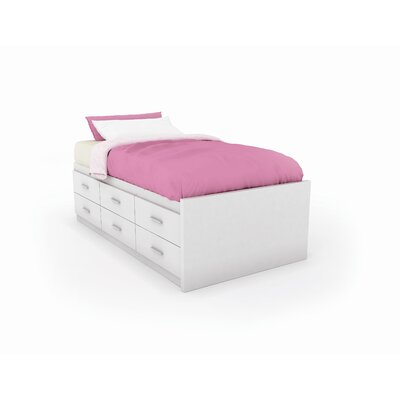 dCOR design Willow Captains Storage Bed