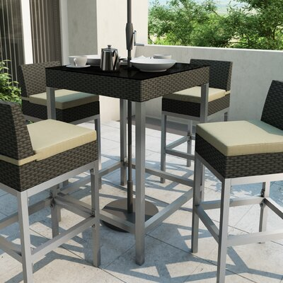 dCOR design Lakeside Bar Height Patio Table