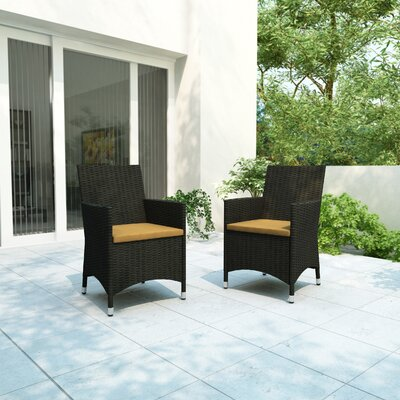 dCOR design Cascade 2 Piece Seating Group with Cushion