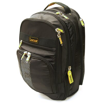 Deluxe Expandable Laptop Backpack