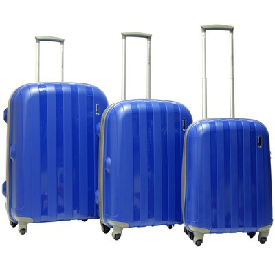 CalPak Paradise Hardsided 3 Piece Spinner Luggage Set
