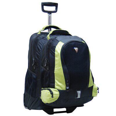 Lotus Adventure Diplomat Single-Pole Detachable Rolling Backpack
