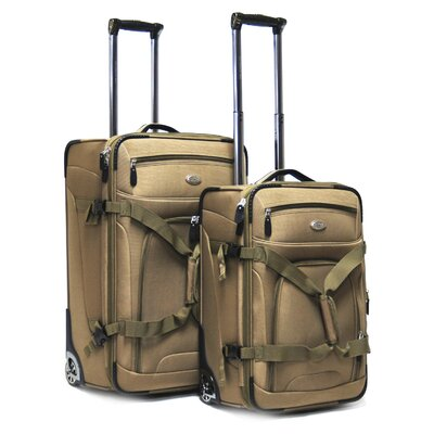 Journey Expandable 2 Piece Luggage Set