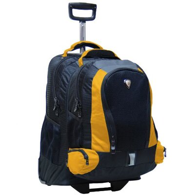 CalPak Lotus Adventure Diplomat Single-Pole Detachable Rolling Backpack