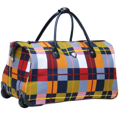 "CalPak Soho 21"" 2-Wheeled Carry-On Duffel"