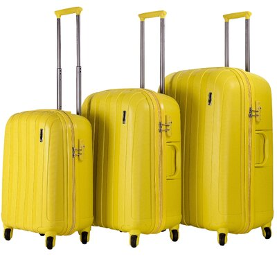 Paradise Hardsided 3 Piece Spinner Luggage Set