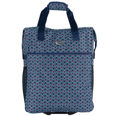 The Big Eazy Geometric Shopping Tote