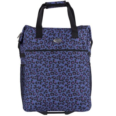 The Big Eazy Animal Print Shopping Tote
