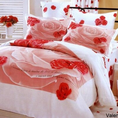 Le Vele Valentine Duvet Cover Bedding Set