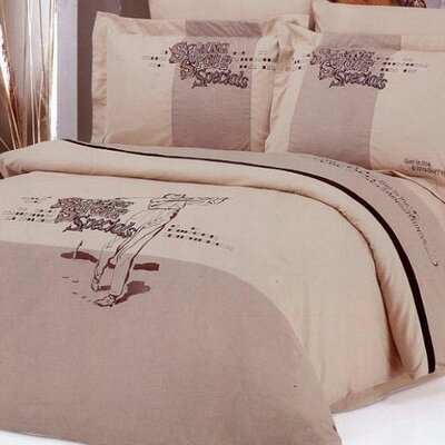 Le Vele Golf 6 Piece Full / Queen Duvet Cover Set