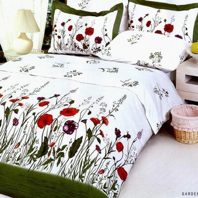 Le Vele Garden 6 Piece Full / Queen Duvet Cover Set