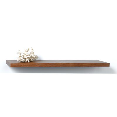 Narrow City Square Bracketless Shelf