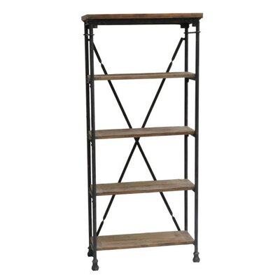 "<strong>Crestview Collection</strong> Industria 68"" Bookcase"
