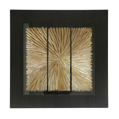"Crestview Collection Gold Star Wooden Shadow Box - 24"" x 24"""