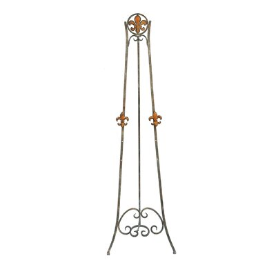 Crestview Collection Fleur-de-lis Colored Easel