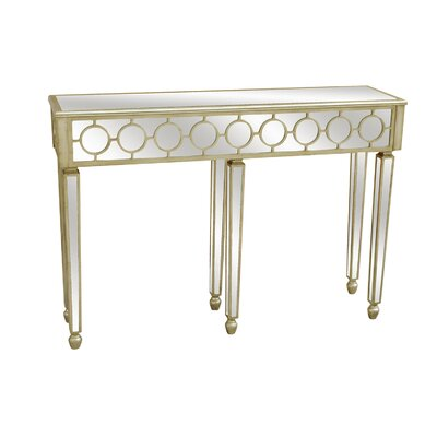 Crestview Collection Mirrored Console Table