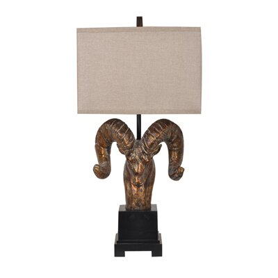 Crestview Collection Mountain 1 Light Table Lamp
