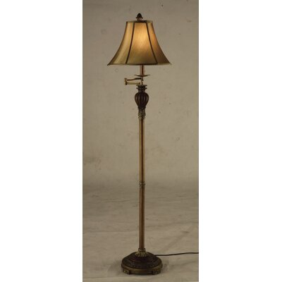 Fangio Swing Arm Floor Lamp | Wayfair