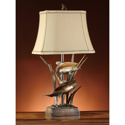 "Crestview Collection Upstream 32"" H Table Lamp with Empire Shade"