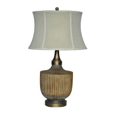 "Crestview Collection Russo 32.5"" H Table Lamp with Bell Shade"