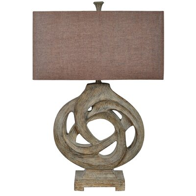 Crestview Collection Coiled Branch 1 Light Table Lamp