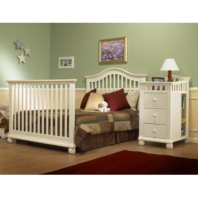 Sorelle Cape Cod 4-in-1 Convertible Crib N Changer Combo