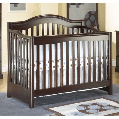 Sorelle Sophia 4-in-1 Convertible Crib in Espresso
