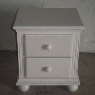 Vista 2 Drawer Nightstand