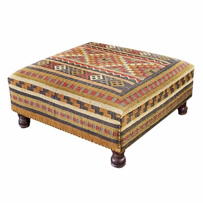 Interlude Home Santa Fe Cocktail Ottoman