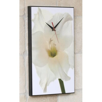 Gladiolus Flower Wall Clock