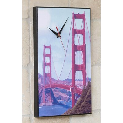 Wilson Studios Golden Gate Bridge Wall Clock