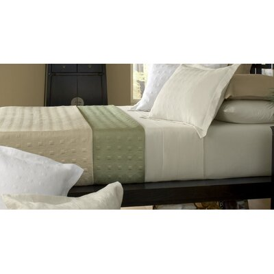 Belle Epoque Standard Bamboo Quilted Reversible Coverlet