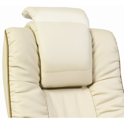 Modal Windsor Leather Executive Armchair in Cream