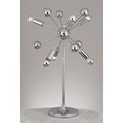 AF Lighting Supernova 6 Light Table Lamp