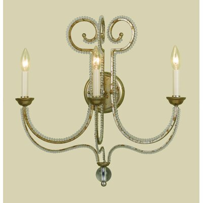 AF Lighting Camerson 3 Light Wall Sconce