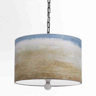 Horizons Seaside 3 Light Drum Pendant