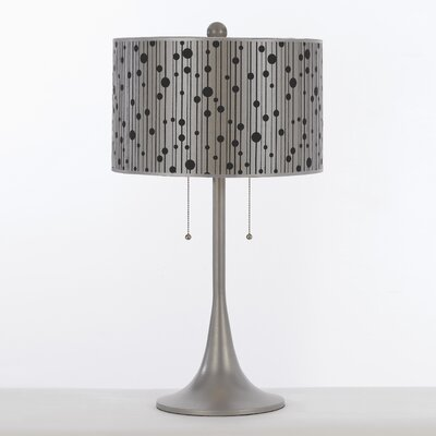 "AF Lighting Candice Olson Drizzle 29.5"" H Table Lamp with Drum Shade"